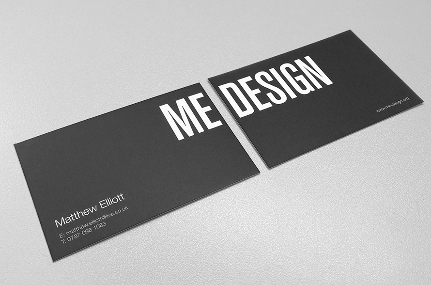 MEDESIGN Business cards