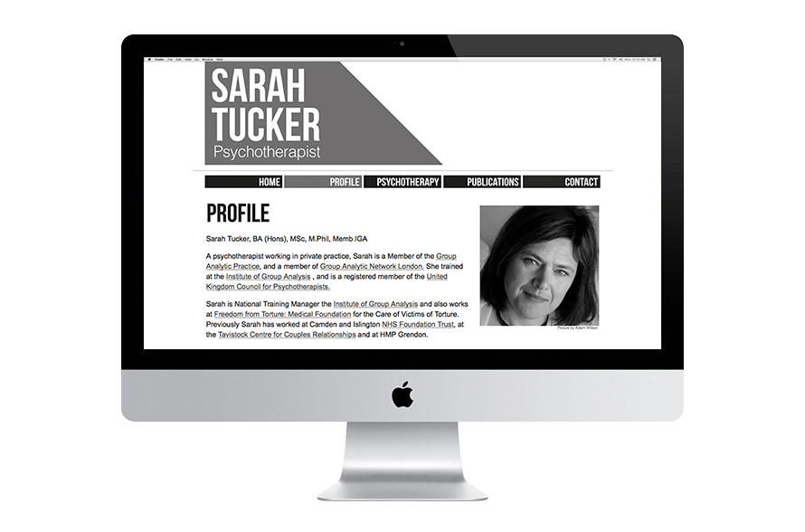 Sarah Tucker Website